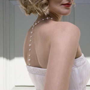 Long Back Bridal Necklace | Juliet