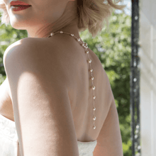 Load image into Gallery viewer, Long Back Bridal Necklace | Juliet