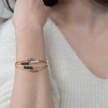 Load image into Gallery viewer, Delicate Birthstone Bracelet
