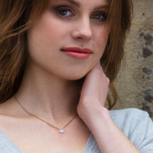 Load image into Gallery viewer, Dainty Birthstone Necklace
