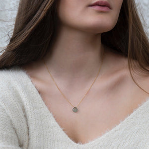 Dainty Birthstone Necklace