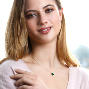 Delicate Birthstone Necklace