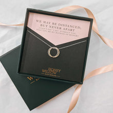 Load image into Gallery viewer, Will You Be My Maid of Honour Gift - Double Ring Friendship Necklace
