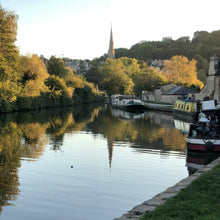 Load image into Gallery viewer, bath in October Kennet and Avon canal