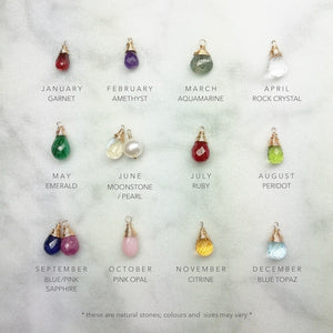 Birthstone Necklace for Loved One