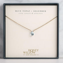 Load image into Gallery viewer, Personalised Birthstone Necklace