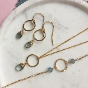 Circles Birthstone Jewellery Set