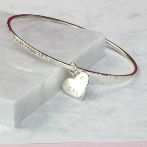 Personalised remembrance bracelet with diamond, commemorative jewelry personalized - Gracie