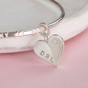 diamond bracelet for bereavement gift, personalized jewelry remembrance