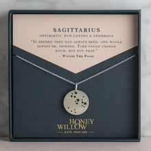 Load image into Gallery viewer, personalised constellation necklace Honey Willow