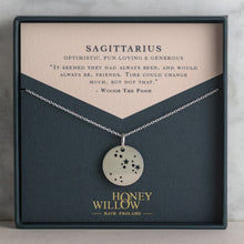 Load image into Gallery viewer, Taurus constellation necklace