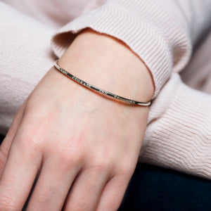 Have Courage And Be Kind | Inspirational Bangle With Words