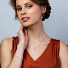 Load image into Gallery viewer, Dainty June birthstone necklace | Clare