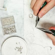 Load image into Gallery viewer, Honey Willow workshop image - Jewellery handmade in Bath, UK