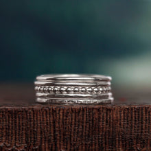 Load image into Gallery viewer, Silver Stacking Rings