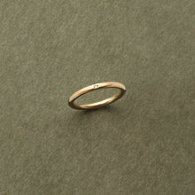 Load image into Gallery viewer, 9kt Gold Single Diamond Ring