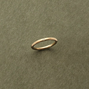 9kt Gold Single Diamond Ring