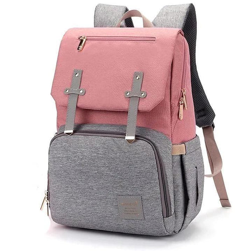 BabySafe USB Diaper Backpack
