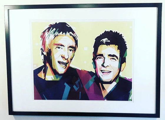 Paul Weller & Noel Gallagher