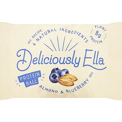 Deliciously Ella Almond & Blueberry Protein Ball (50g)