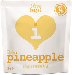 I Love Snacks - Gently Dehydrated Pineapple