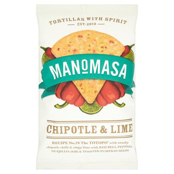 Manomasa Sea Salt & Cracked Black Pepper Chips