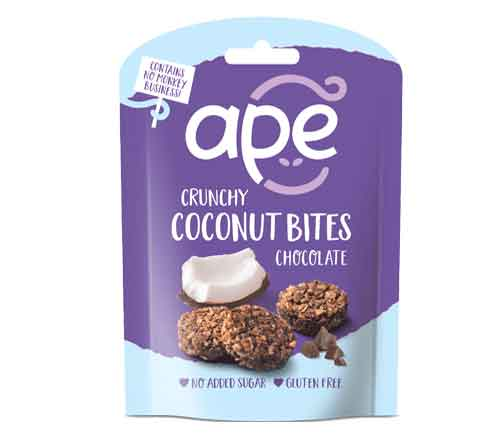 CHOCOLATE CRUNCHY COCONUT BITES