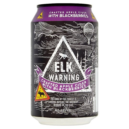 Elk Warning Blackberry