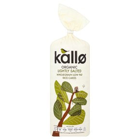 Kallo Organic original rice cakes
