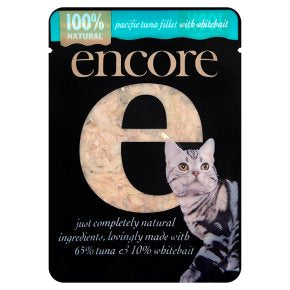 Encore Tuna & Whitebait Cat food 70g