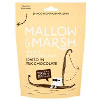 Mallow & Marsh Vanilla Marshmallows Coated in Milk Chocolate