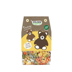Organic - Teddy Bear Shaped Tomato & Spinach Pasta