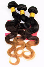 Brazilian Hair Weave -Ombre colour