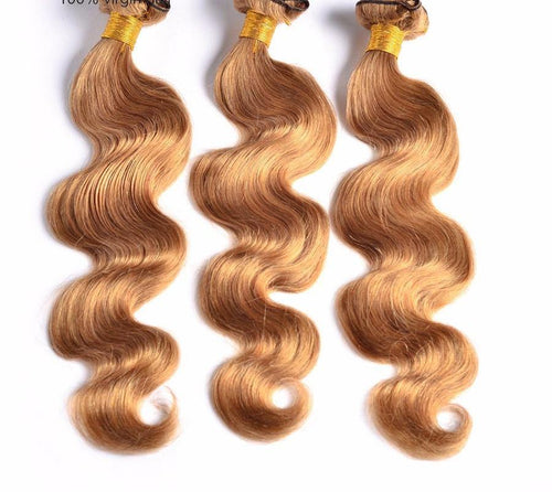 Brazilian Hair Weave -Honey Blond boutiqbou