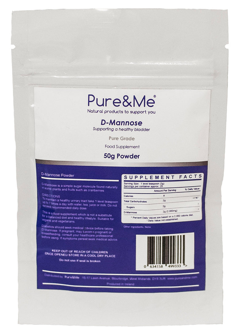 D-Mannose powder from Pure and Me