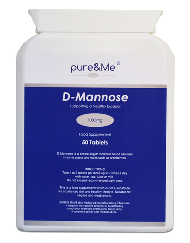 D Mannose Urinary Support Tablets (50)