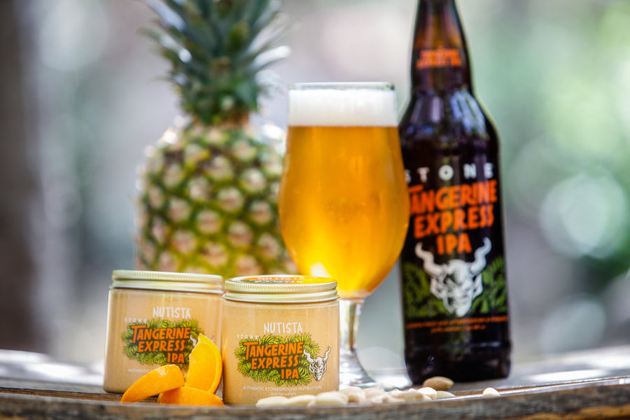 Nutista Launches Collaboration Nutbutter with Stone Brewing
