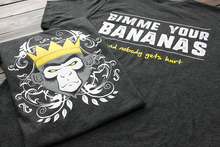 """The Monkey King"" Tee - Banana Backside"