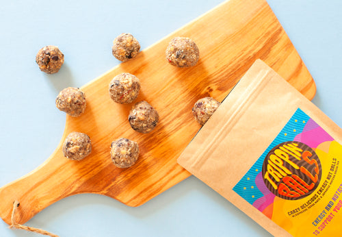 Trippin' Balls - Crazy Delicious Nut Energy Balls
