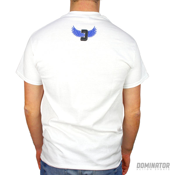 Dominator Wing Tee - White / Blue