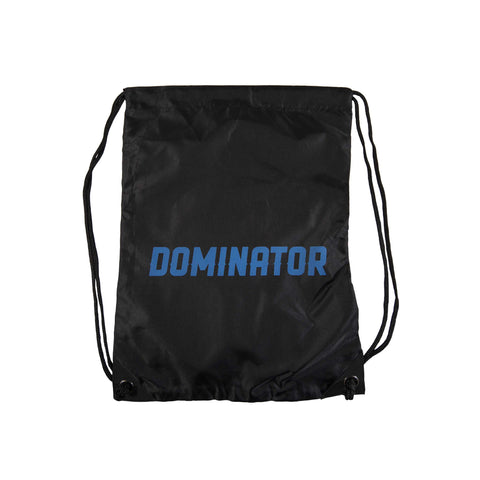 Dominator Logo Drawstring Bag - Black