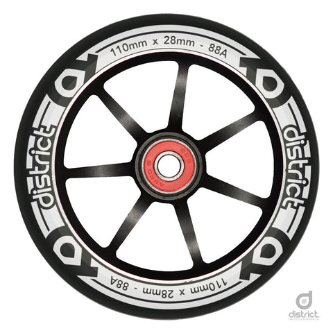 District Scooters 110mm LP Wide Alloy Core Wheel