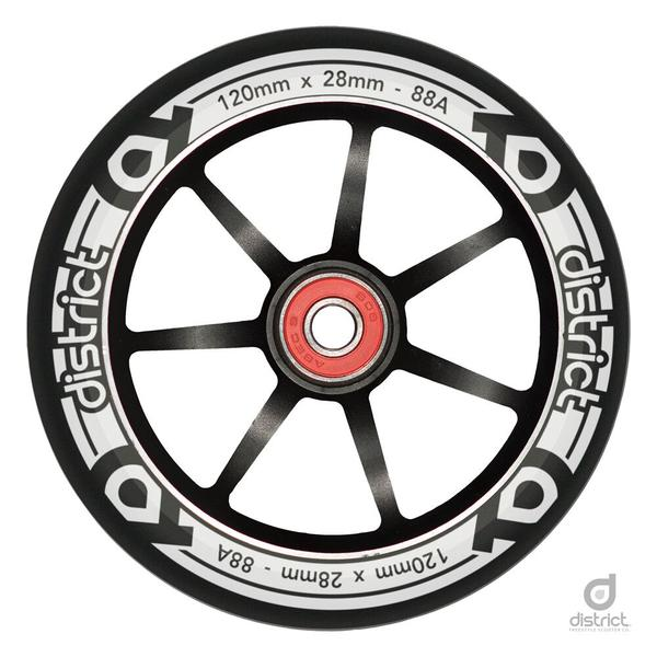 District Scooters 120mm LP Wide Alloy Core Wheel