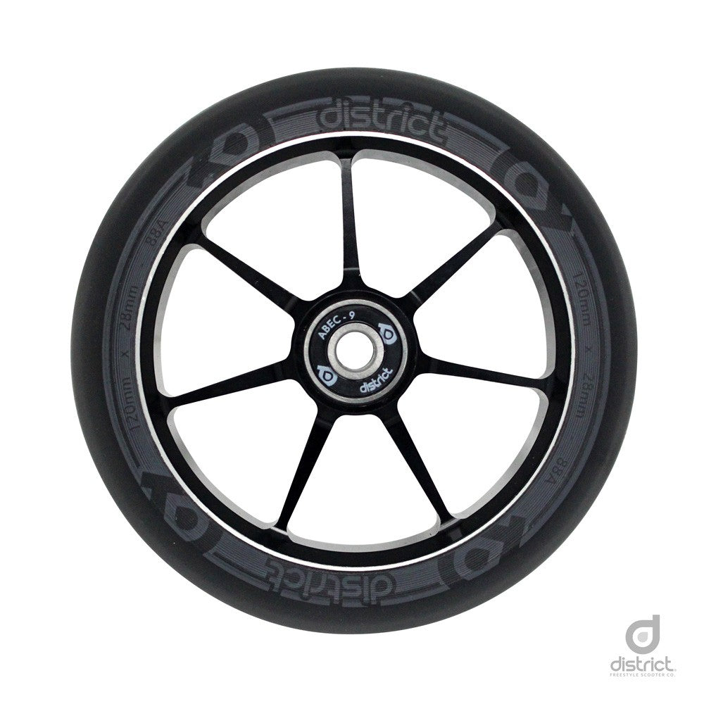 District Scooters 110mmx28mm Dual Width Core W110 Wheel