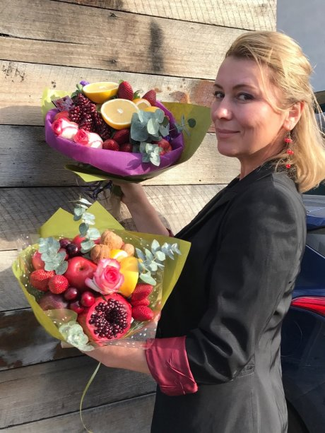 Say it with celery: Fruit and veggie bouquets a blooming success for SA creator