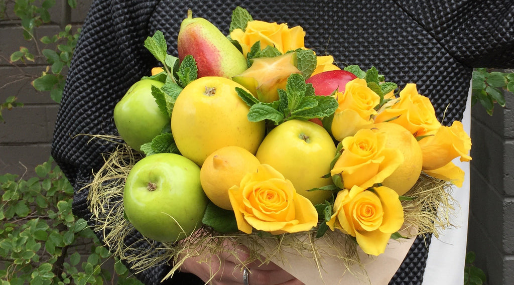 Edible Bouquets Fruit arrangements Flower bouquets