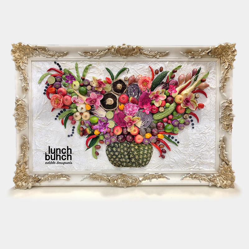 framed-art-work-veggies-fruits-berries-and-flowers