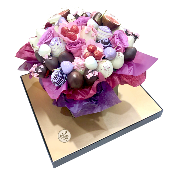 Delicious Chocolate Bouquet is great for Mother's Day Gift or a Thank you Gift with a charm.