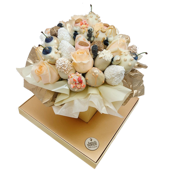 """Allure"" Chocolate Blooms Edible Bouquet"