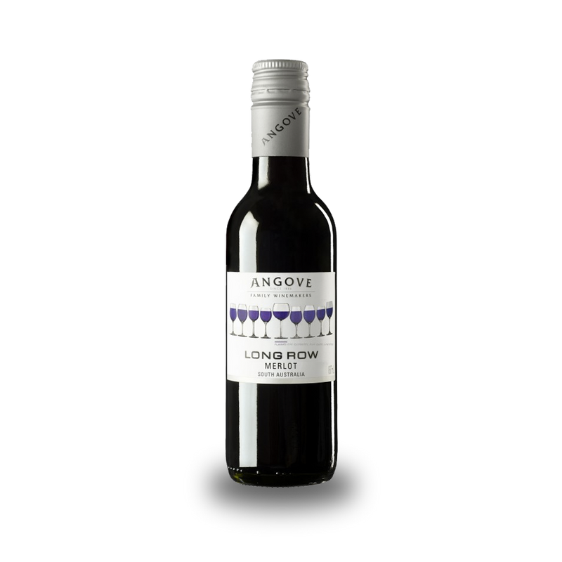 Angove Long Row Merlot - 187mL for gourmet edible bouquet Meat & Cheese Lunch Bunch